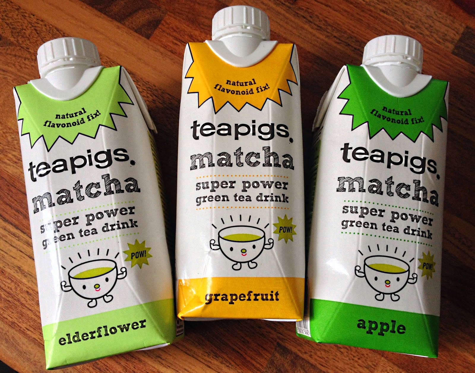 ThatRedheadSaid : teapigs matcha super power green tea drink