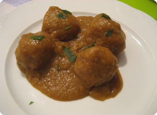 Como hacer alb ndigas de la abuela receta tipica de colombia recetas de comida peruana - Albondigas tradicionales ...