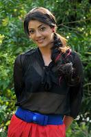 Kajal, In, Black, Tops