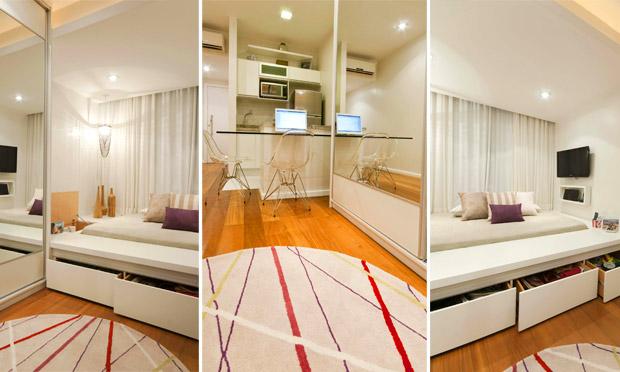 30 projetos de apartamentos pequenos quitinetes e lofts
