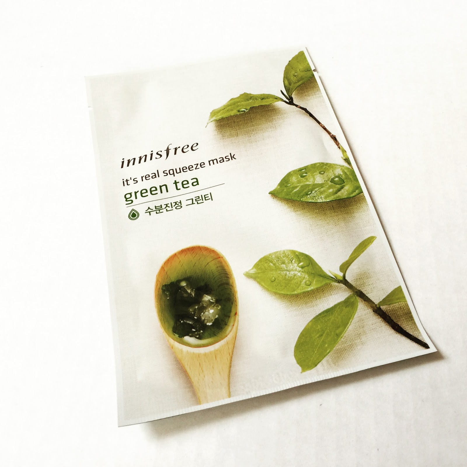 INNISFREE IT'S A REAL SQUEEZE MASK - GREEN TEA