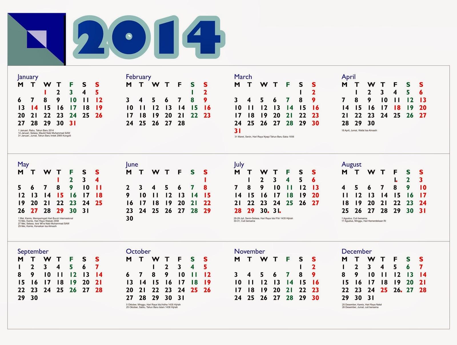 68+ [ Kalender 2017 Indonesia Lengkap Dengan Libur