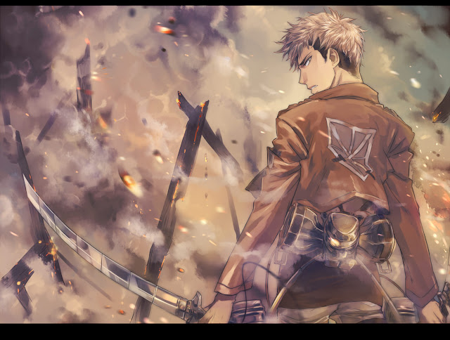 Jean Kirschtein Blade Attack on Titan Shingeki no Kyojin Anime HD Wallpaper Desktop PC Background 2118