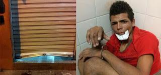 BAHIA: Pela 9ª vez em dois anos, jovem é preso por furtos e arrombamentos em Paulo Afonso