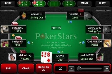 Pokerstars para tablet android descargar