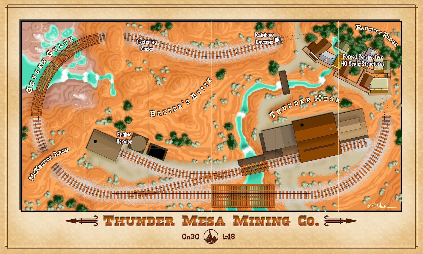 Thunder mesa mining co a plan for thunder mesa