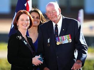 Don Ritchie Receiving Australia Award