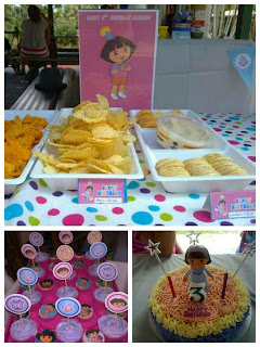 dora the Explorer birthday cake cupcake