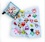 cute adorable owls cleaning cloth for glasses, sunglasses, ipads, phones, screens