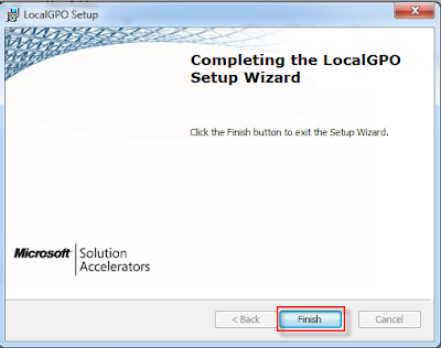 07 security compliance manager v2 local gpo installation completed