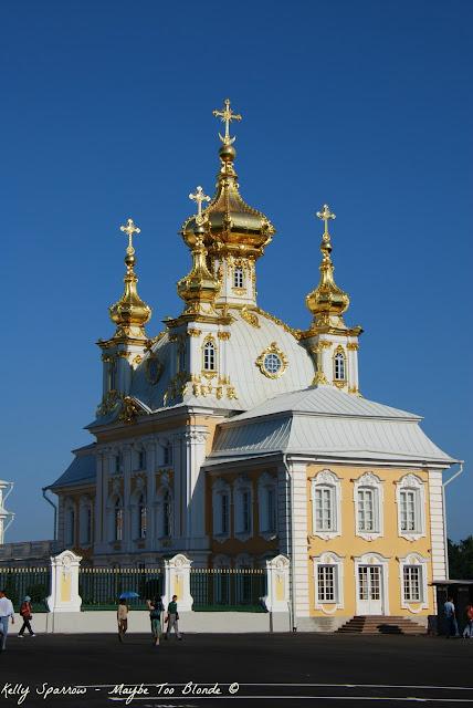 Peterhof Palace - St. Petersburg Russia