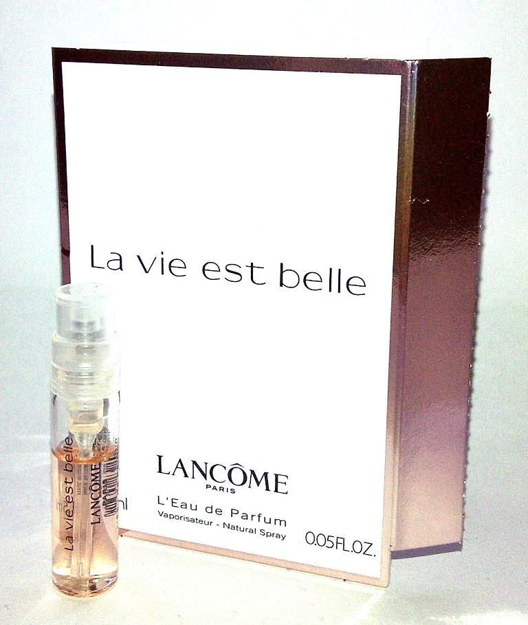 BeautySwot: Perfume Sample Saturday - Lancome La Vie Est Belle