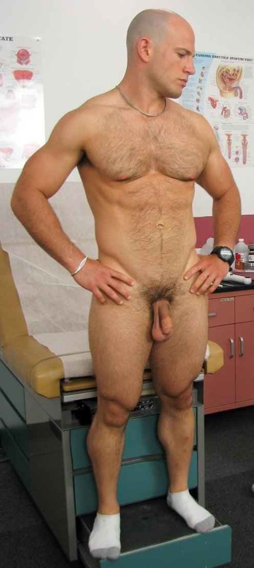 Nude male military physical exams excellent and