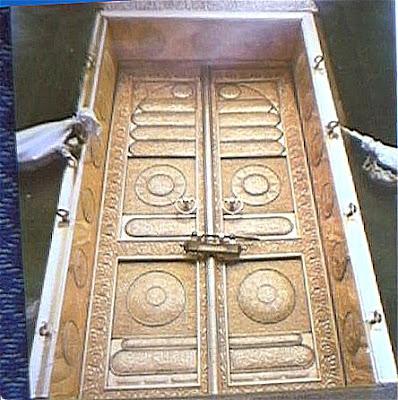 Kaaba's Interior. khana kaba