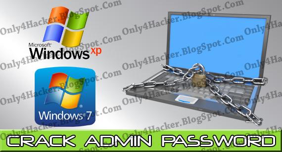 win 7 administrator password hack