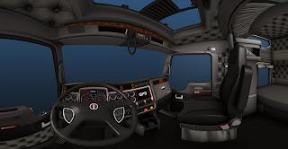 American truck simulator K900_int_panorama