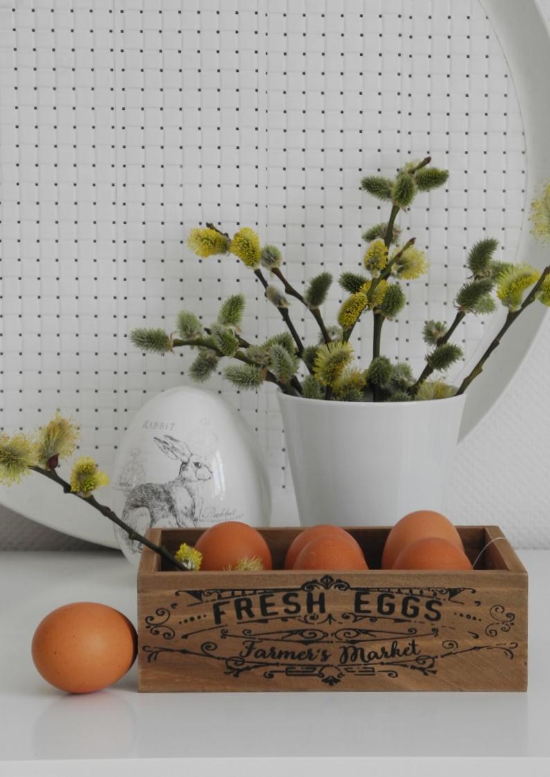 Stojak drewniany na jajka FRESH