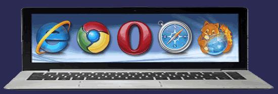 Navegador de Internet... Use o melhor e o mais sofisticado