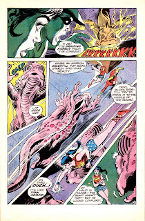 Teen Titans v1 #22 dc comic book page art by Neal Adams