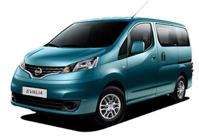 Spesifikasi dan Harga Nissan Evalia