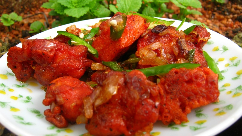 Types Of MANCHURIAN-Chicken Manchurian