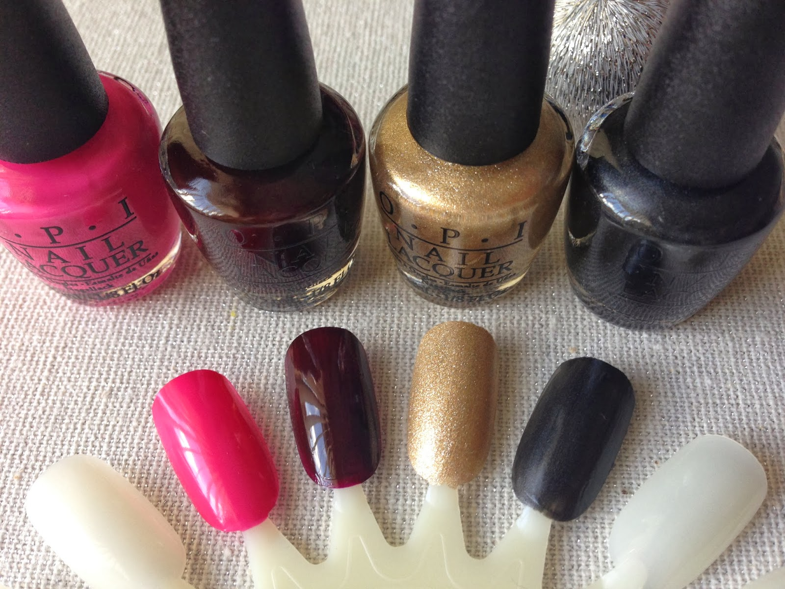 The Beauty of Red Roses: NEW Gwen Stefani for OPI Rock Starlets Mini ...