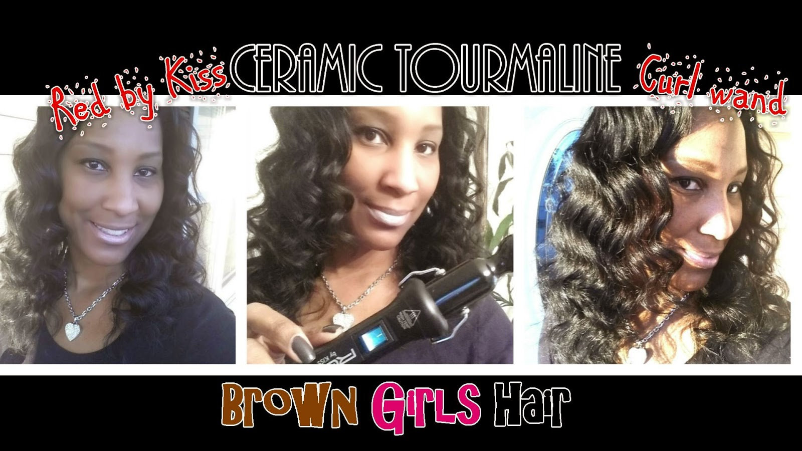 curling wand, wavy, natural, black, girls,women, hair