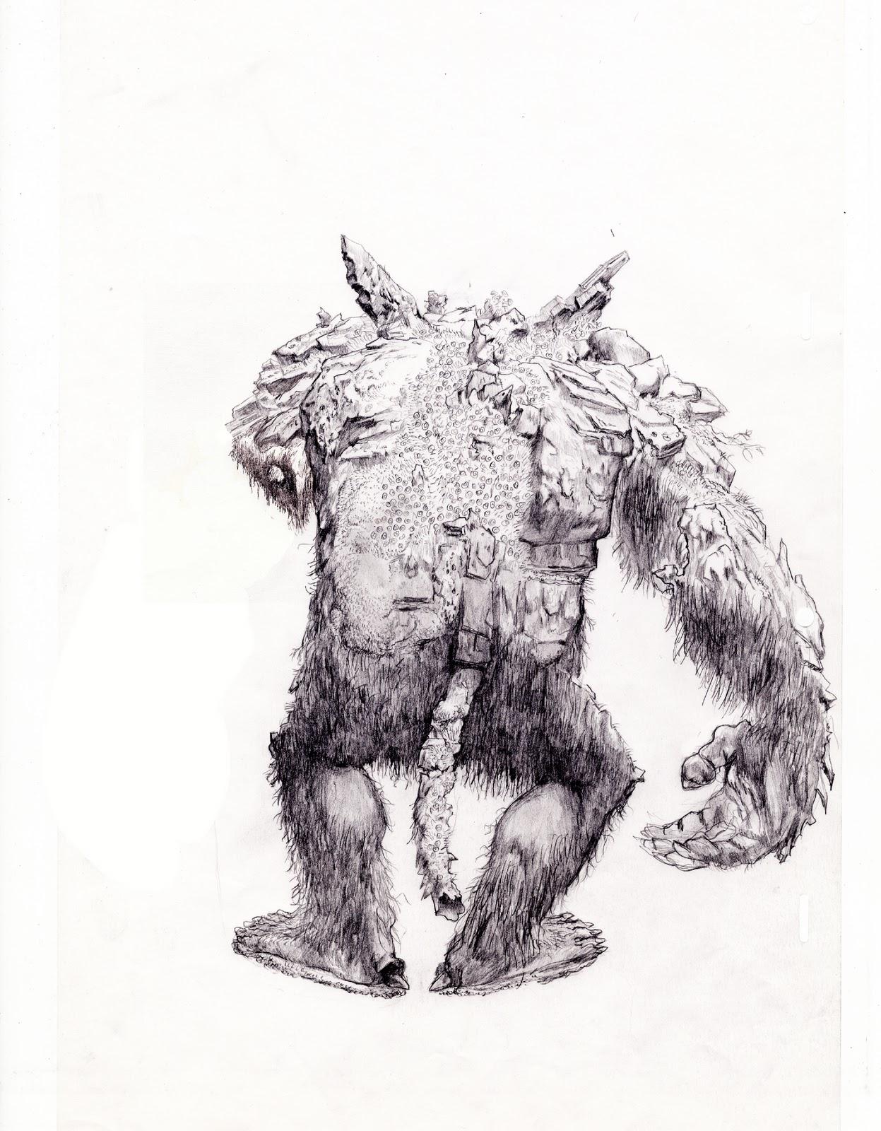 ryggen til trollene i frozen