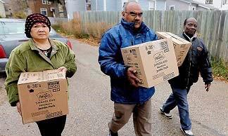 Muslim Ontario bantu fakir miskin