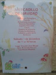 Mercadillo Micael, Navidad 2012.