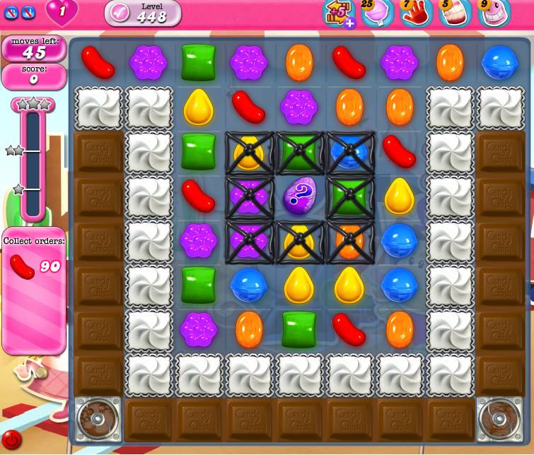 Candy Crush Saga 448