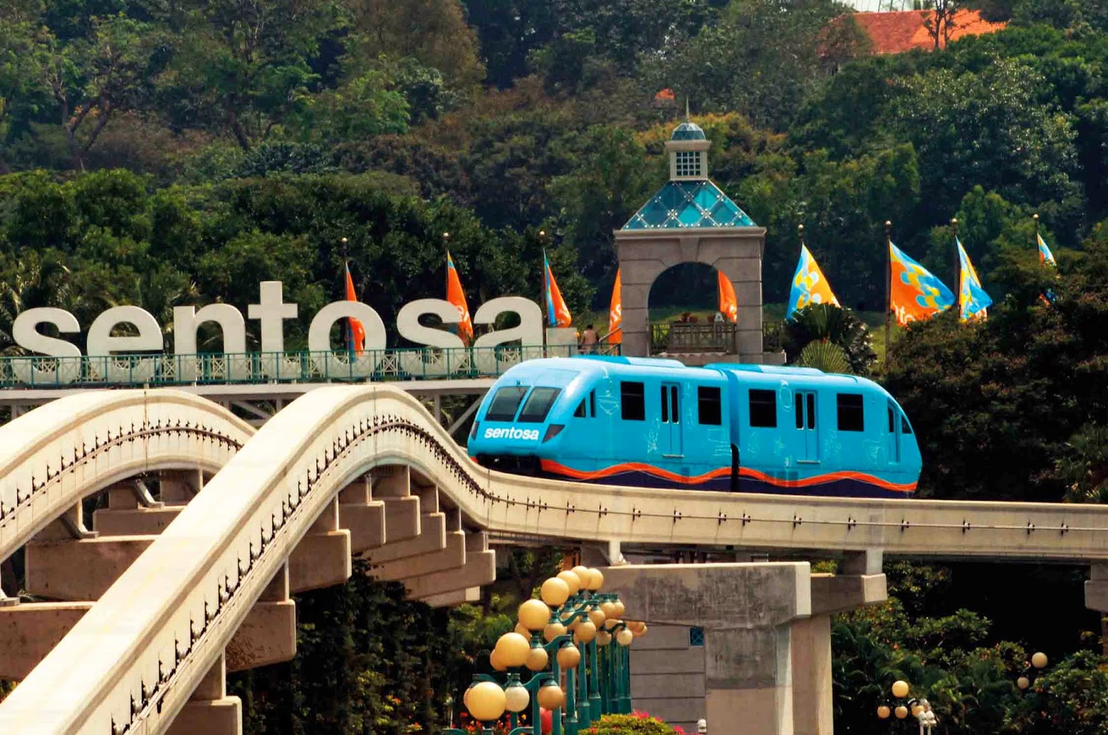 Singapore-Sentosa island