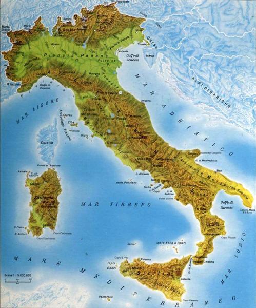 Lo dolce stil - Regioni italiane non bagnate dal mare ...