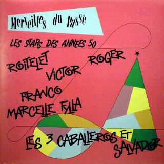 Les Stars des Années 50 - Various Artists,african 360.164, 1986