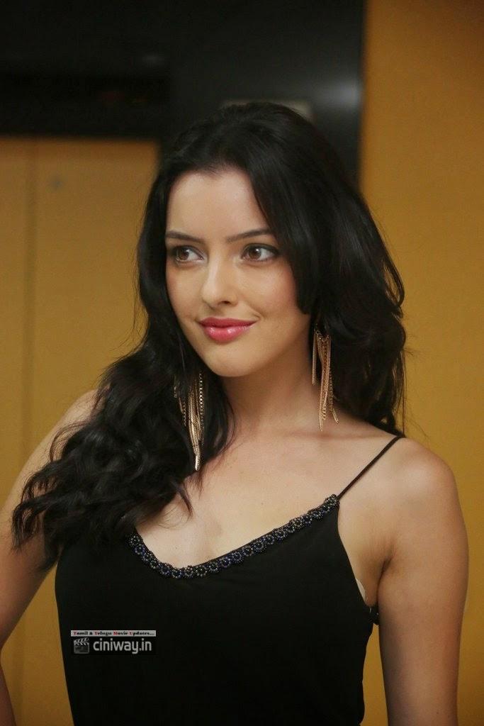 Kristina-Akheeva-Stills-at-Gaali-Patam-1st-Look-Launch