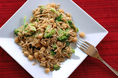 Tri to Cook: Orzo Pesto Salad