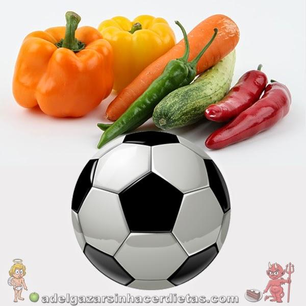 La alimentación de un futbolista el día de un partido: como debe comer antes, durante y después.
