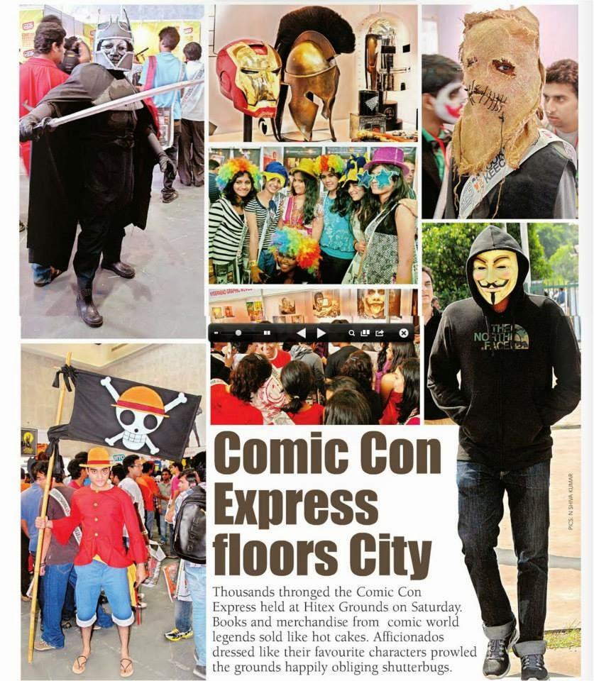 Free Comic Book Day 2013: INDIAN COMICS: Comic Con Hyderabad -2013