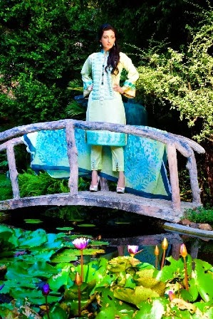 Ayesha Somaya Lawn Collection 2014-2015