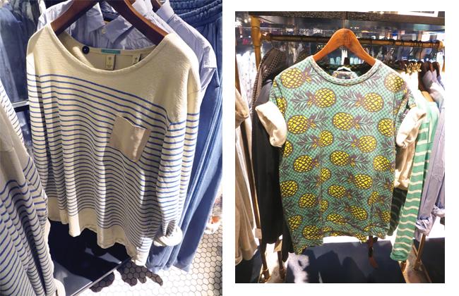 Maison Scotch Shirt, Ananas Print T-Shirt