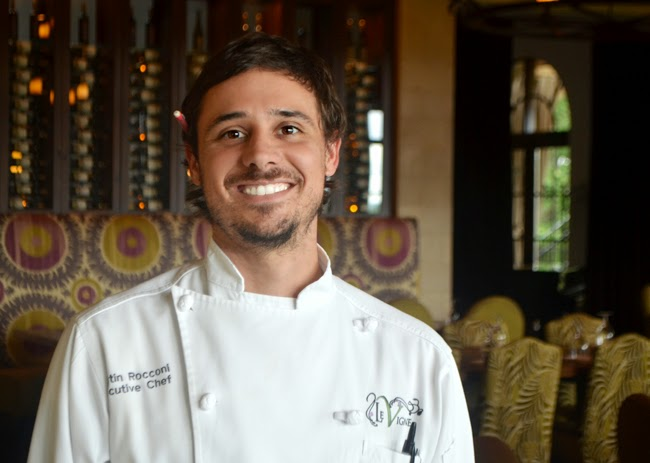 Executive Chef Austin Rocconi, Le Vigne at Montaluce Winery