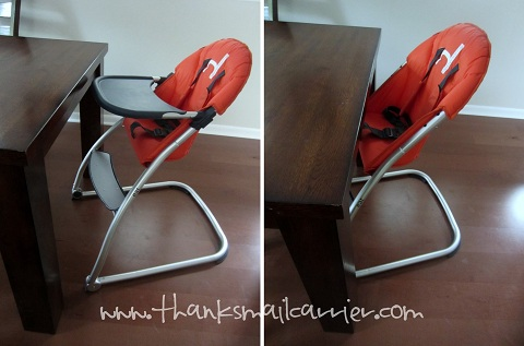 extended use high chair
