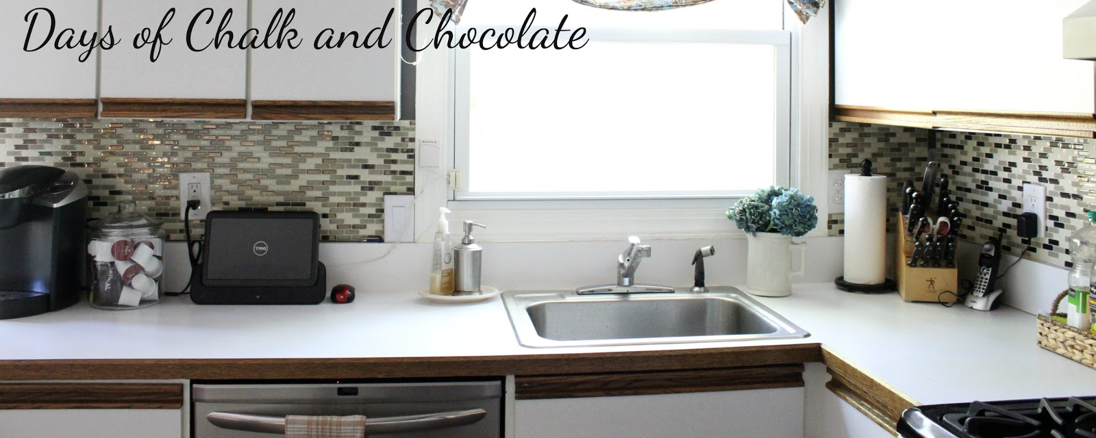 Painted Faux Stone Countertops