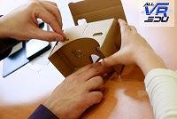 ADQUIERE TU VISOR CARDBOARD por 6€ +IVA. Incluye folleto recomendaciones uso + link vídeo montaje.