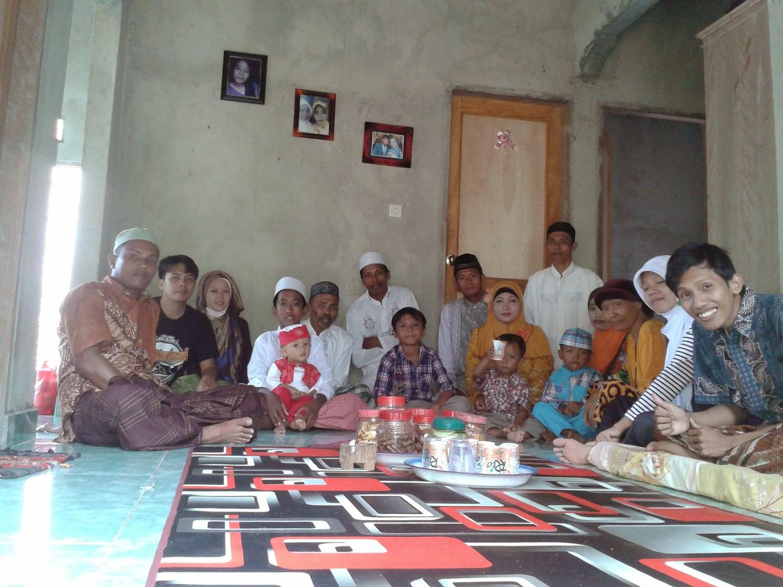Kumpul keluarga di Karimunjawa 2014