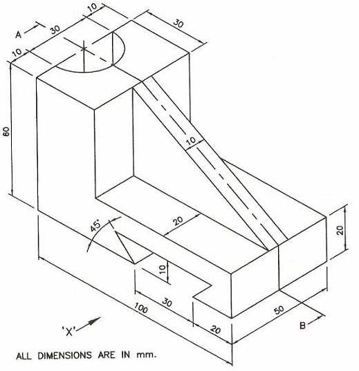 Engineering Drawing And Graphics Basant Agrawal C M Agrawal Gtu