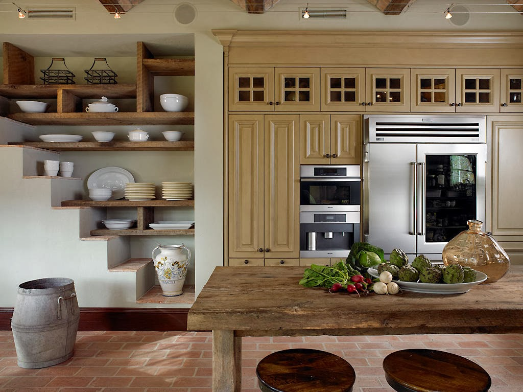 classic pantry elements makes a rustic kitchen look