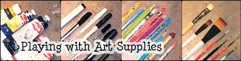 Playing with Art Supplies:  The Art of Carolyn S. Nehring