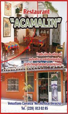 """Restaurante """"Acamalin"""""""