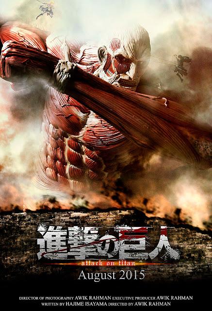 Attack on Titan Live Action (2015) 720p HDRip Subtitle Indonesia